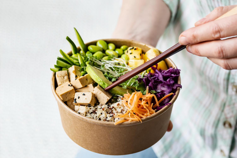 takeaway-vegan-poke-bowl-photography